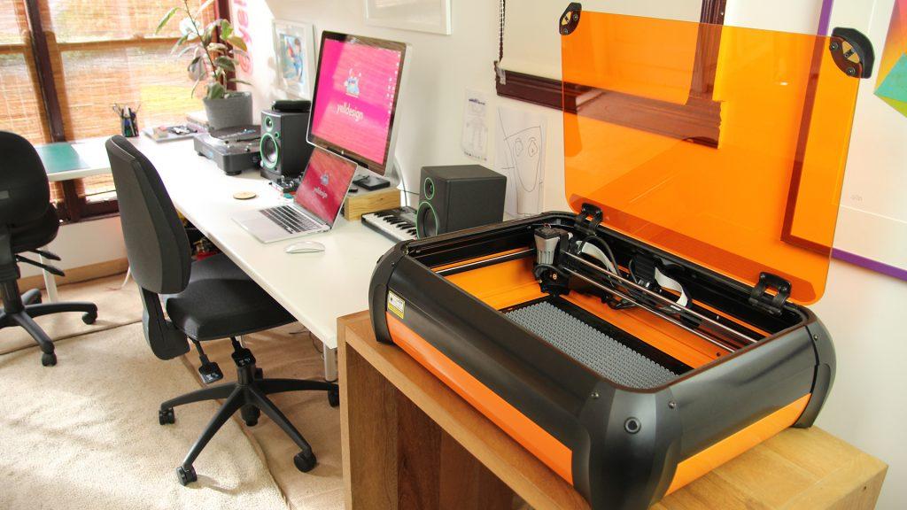 Mini Laser Cutter 💥 Yelldesign